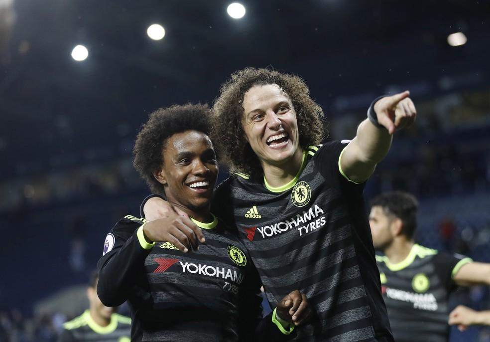 David Luiz, titular no campeão inglês Chelsea, tem chance de voltar à Seleção (Foto: Reuters)