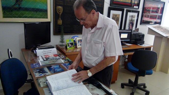 Lauthenay Perdigão, Museu dos Esportes (Foto: Paulo Victor Malta/Globoesporte.com)