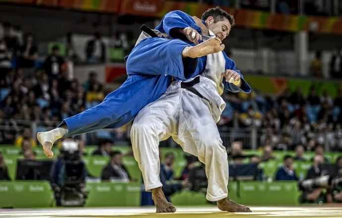 Tiago Camilo judo Rio 2016 (Foto: Marcio Rodrigues/MPIX/CBJ)