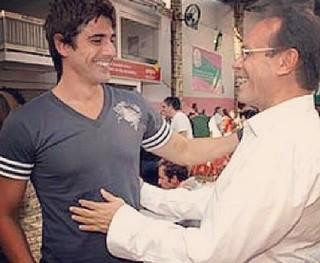 Reynaldo Gianecchini e José Wilker (Foto: Reprodução do Instagram)