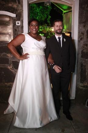 Casamento Cacau Protássio e Janderson Pires (Foto: Isac Luz/EGO)