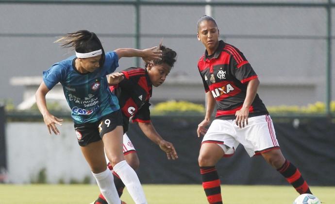 Flamengo Centro Olímpico futebol feminino Brasileiro (Foto: Rafael Ribeiro / CBF)