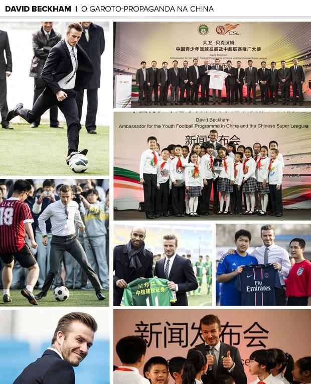 David Beckham psg  garoto-propaganda na China (Foto: Divulgação/Paris Saint-Germain)