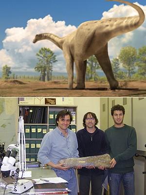 Dinossauro (Foto: Oscar Sanisidro/ICP)