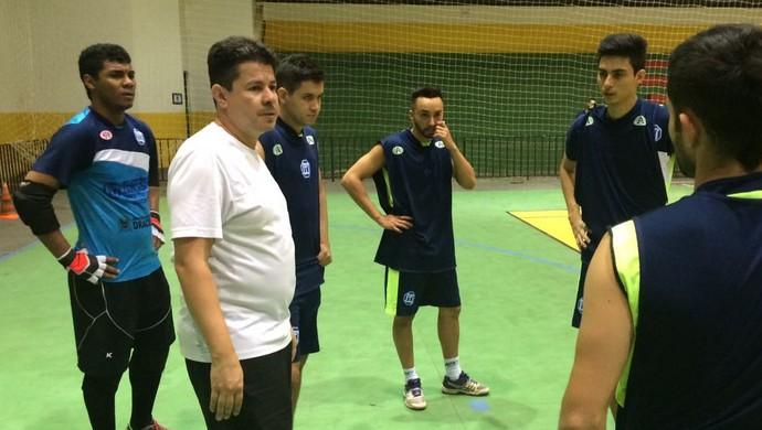 Dracena, futsal, Flavinho Cavalcante (Foto: Murilo Rincon / GloboEsporte.com)