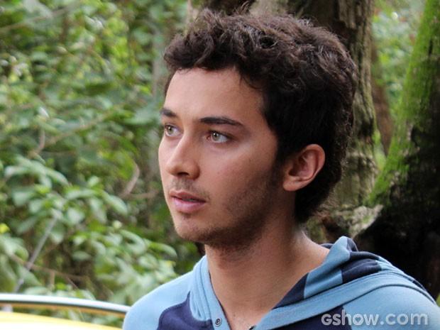 Pela cara de Ben, a situação é crítica! (Foto: Felipe Monteiro/ TV Globo)