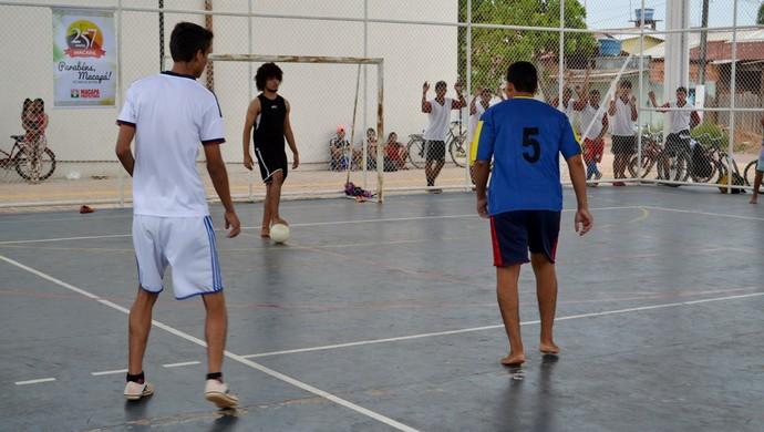 Futsal infantojuvenil no CEU das Artes do Amapá (Foto: Divulgação/CEU das Artes)