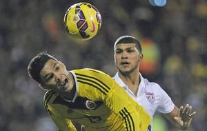Teofilo Gutierrez, Colômbia x EUA (Foto: EFE)