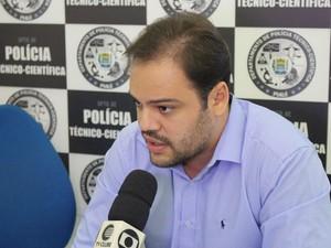 Diretor-adjuton do IML de Teresina, Marcos Santos  (Foto: Beto Marques/G1)