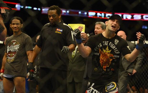 Ben Henderson e Frankie Edgar UFC 150 (Foto: Associated Press AP)