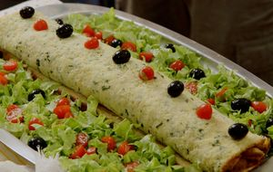 Rocambole de bacalhau: receita do 'Tempero de Família'