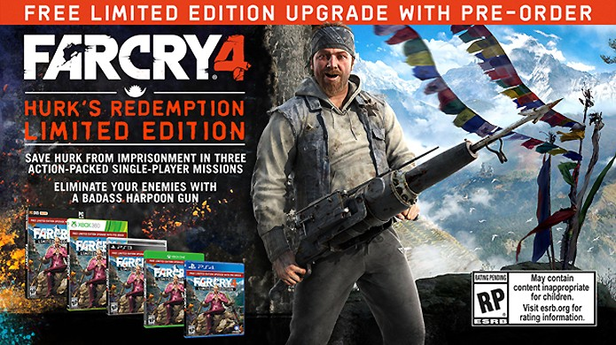 Personagem Hurk de Far Cry 3 ganha sua própria história como bônus de pré-venda de Far Cry 4 (Foto: Divulgação)