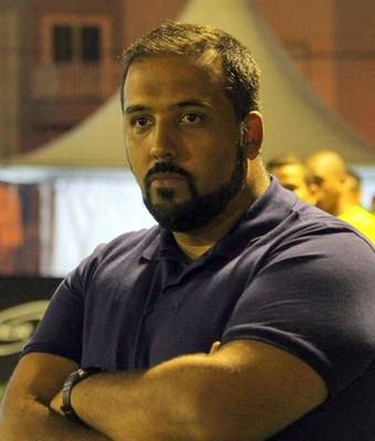 Maurição Bezerra, do Rio Branco, foi eleito o melhor técnico de futebol 7 do mundo (Foto: Divulgação/Football 7 Worldwide)