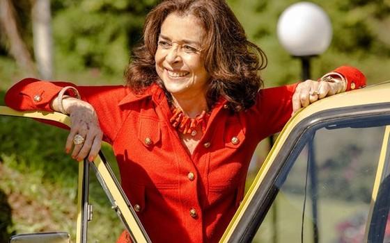 Betty em cena de Boogie Oogie, em 2014, sua última novela na TV Globo (Foto: Divulgação/ Rede Globo)