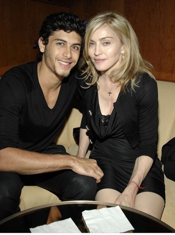 Jesus e Madonna, em foto de arquivo, na época em que namoraram  (Foto: Reprodução)