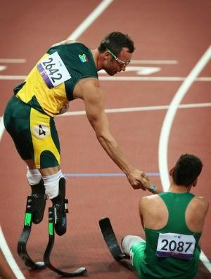 Pistorius Fonteles Paralimpíadas (Foto: Divulgação/CPB)