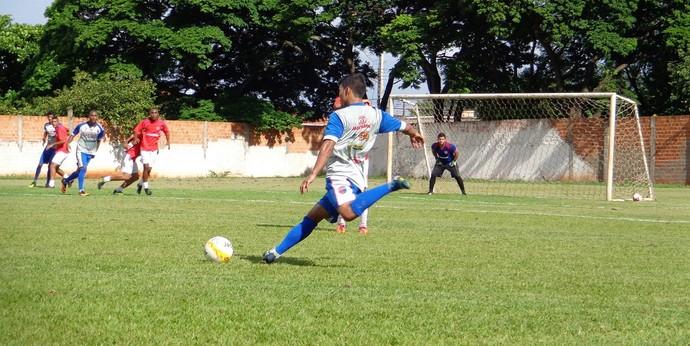 Grêmio Prudente 0 X 2 Cincão - jogo-treino em Londrina (Foto: Grêmio Prudente / Divulgação)