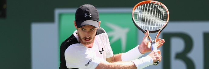 Andy Murray é derrotado por Federico Delbonis no Masters 1000 de Indian Wells (Foto: Getty Images)