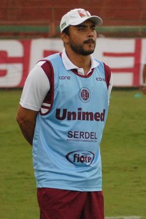 Erich Bomfim faz mistério e não revela equipe (Foto: Henrique Montovanelli/Desportiva Ferroviária)