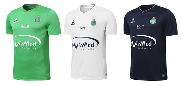 Camisas Saint-Etienne