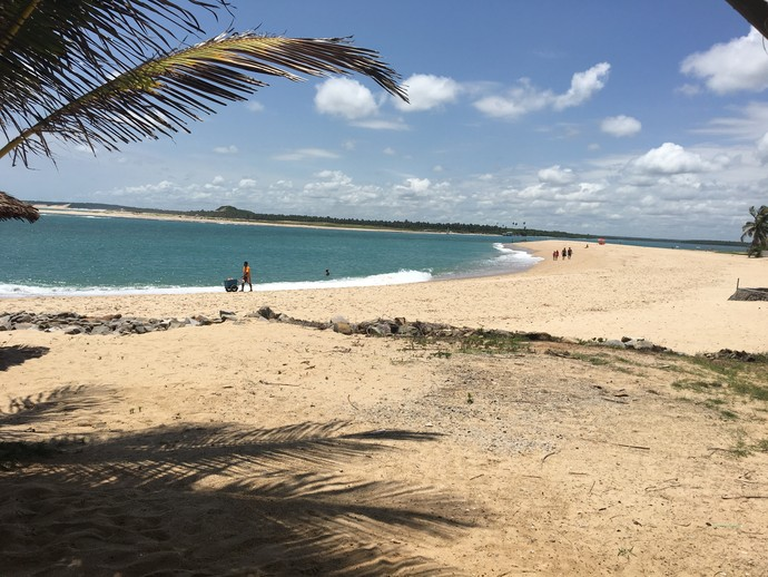Conheça Barra do Cunhaú, destino dos programas de verão do 'Rota' (Foto: Sérgio Luis / Rota Inter TV)