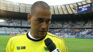 Giulliano, goleiro da URT (Foto: Reprodução/TV Globo Minas)