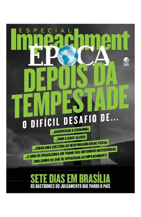 Revista ÉPOCA - capa da edição 951 - Depois da tempestade (Foto: ÉPOCA)