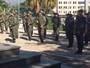Cerimônia sela troca do Exército pela PM na ocupação da Maré, no Rio