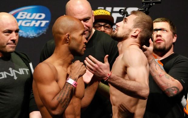 Demetrious Johnson x Ali Bagautinov UFC MMA (Foto: Getty Images)