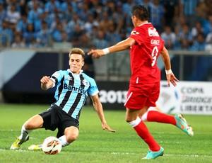 Bressan teve boa atuação em vitória sobre a LDU (Foto: Lucas Uebel/Grêmio FBPA)