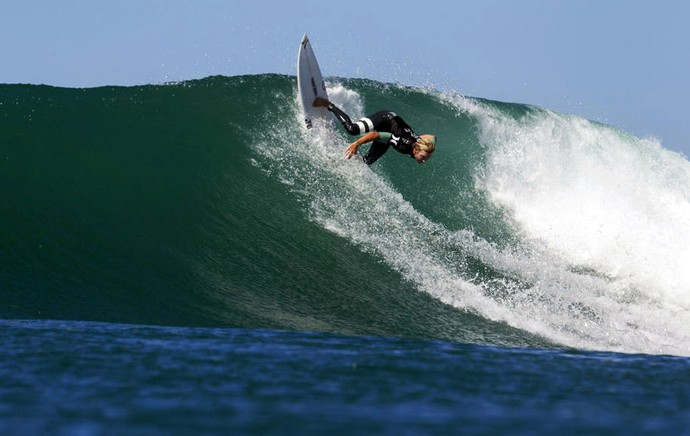Adrian Buchan surf quartas de final WCT de Trestles (Foto: ASP)