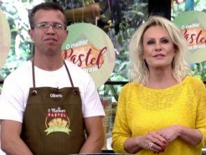 Alagoano em concurso de pastel do Mais Você  (Foto: Reprodução/ Rede Globo)