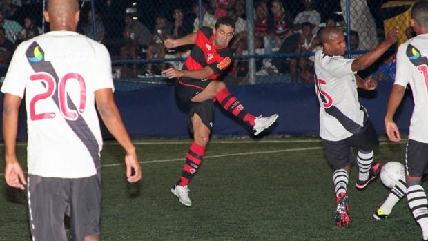 Flamengo vence o Vasco, fut 7 (Foto: Davi Pereira / Jornal Fut 7)