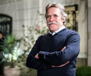 José de Abreu viveu  Gibson Stewart em 'A Regra do Jogo' | Ellen Soares/Gshow