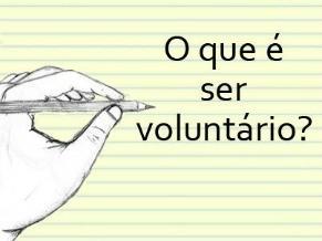 Dia do Voluntário (Foto: Divulgação)