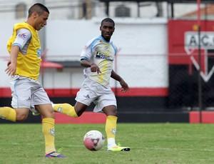 Macaé treina em Goiânia antes de enfrentar o Vila Nova (Foto: Tiago Ferreira / Macaé)