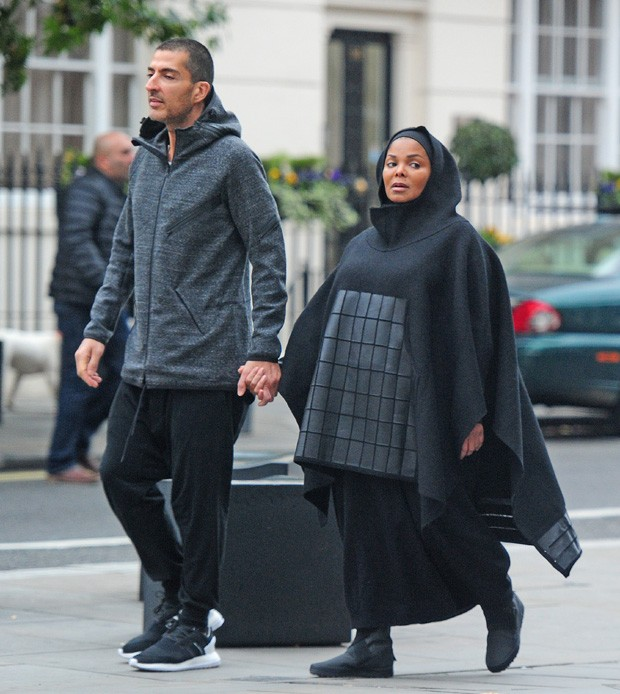 Wissam Al Mana e Janet Jackson (Foto: The Grosby Group)