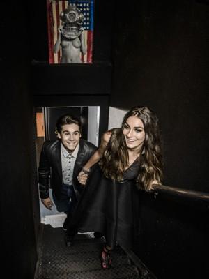 Nicolas Prattes e Marina Moschen (Foto: Fabio Cordeiro/QUEM)