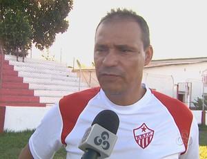Everton Goiano, técnico do Rio Branco (Foto: Reprodução/TV Acre)