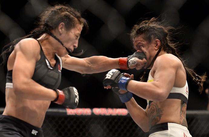 Joanna Jedrzejczyk, Cláudia Gadelha, TUF 23 Finale, UFC, MMA (Foto: Getty Images)