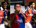 Força ofensiva: trio é responsável por metade dos gols do Paraná na Série B