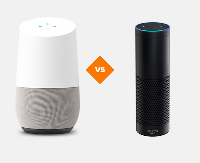 Google Home ou Amazon Echo? Saiba mais sobre cada assistente home (Foto: Arte/TechTudo)