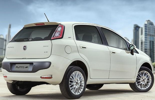 Fiat Punto SP (Foto: Divulgação)