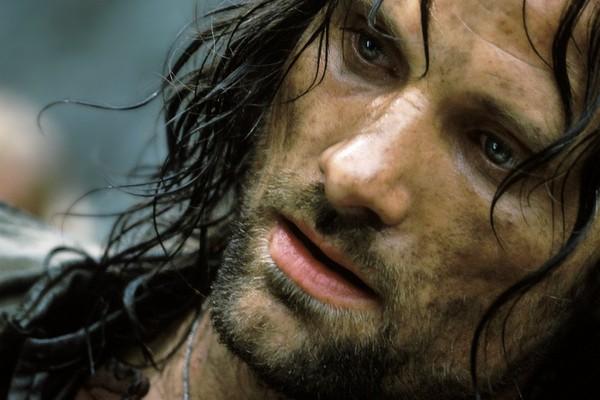 Viggo Mortensen como Aragorn em cena de 'O Senhor dos Anéis' (Foto: Divulgação)