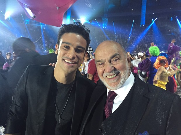 Sérgio Malheiros e Lima Duarte (Foto: Divulgação)