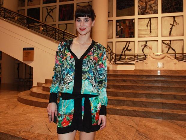 Mel Lisboa em estreia de peça em São Paulo (Foto: Manuela Scarpa e Marcos Ribas/ Brazil News)