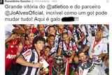 Na mira do Cruzeiro, R10 não esquece passagem pelo Galo e vibra com título