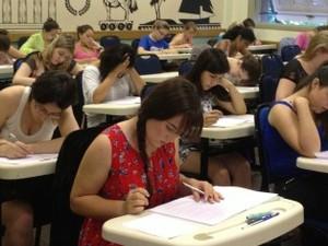 Estudantes disputam vagas em 89 cursos de graduação da UFRGS (Foto: Rafaella Fraga/G1)