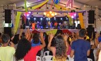 Fé, alegria e louvor marcam a abertura do 33º Cristoval em Santarém (Aritana Aguiar/G1)