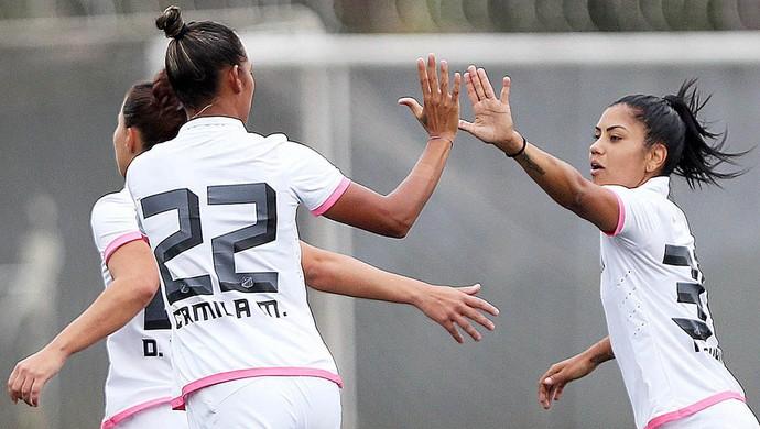 Sereias da Vila, Santos x Mixto, CT Rei Pelé (Foto: Pedro Ernesto Guerra Azevedo/Santos FC)